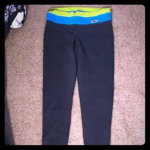 Hollister grey yoga pants